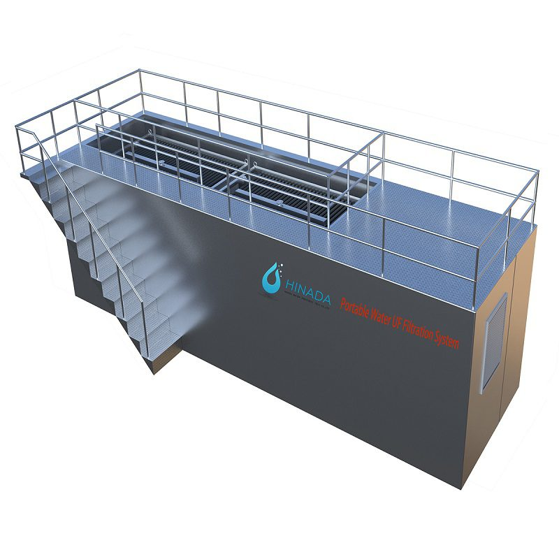 Containerized Portable Water Treatment Plants for Remote Areas