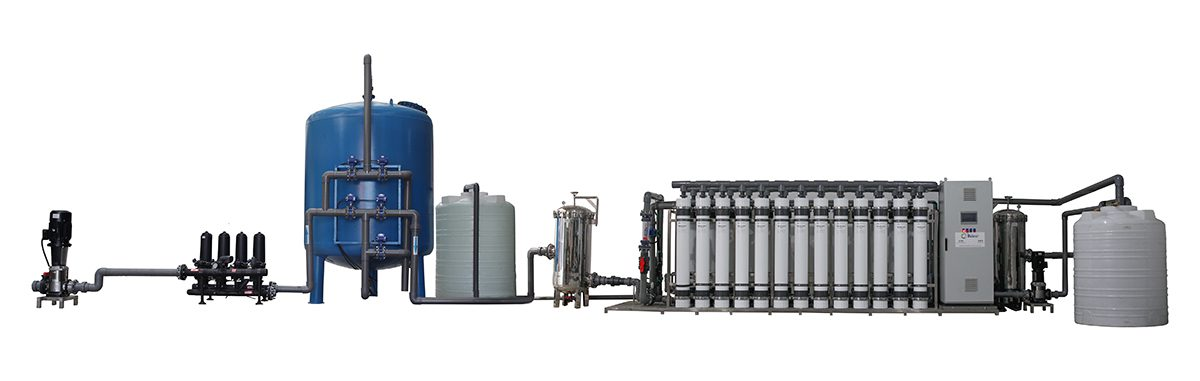 1000 m3Day UF System to USA Drinking Water Project