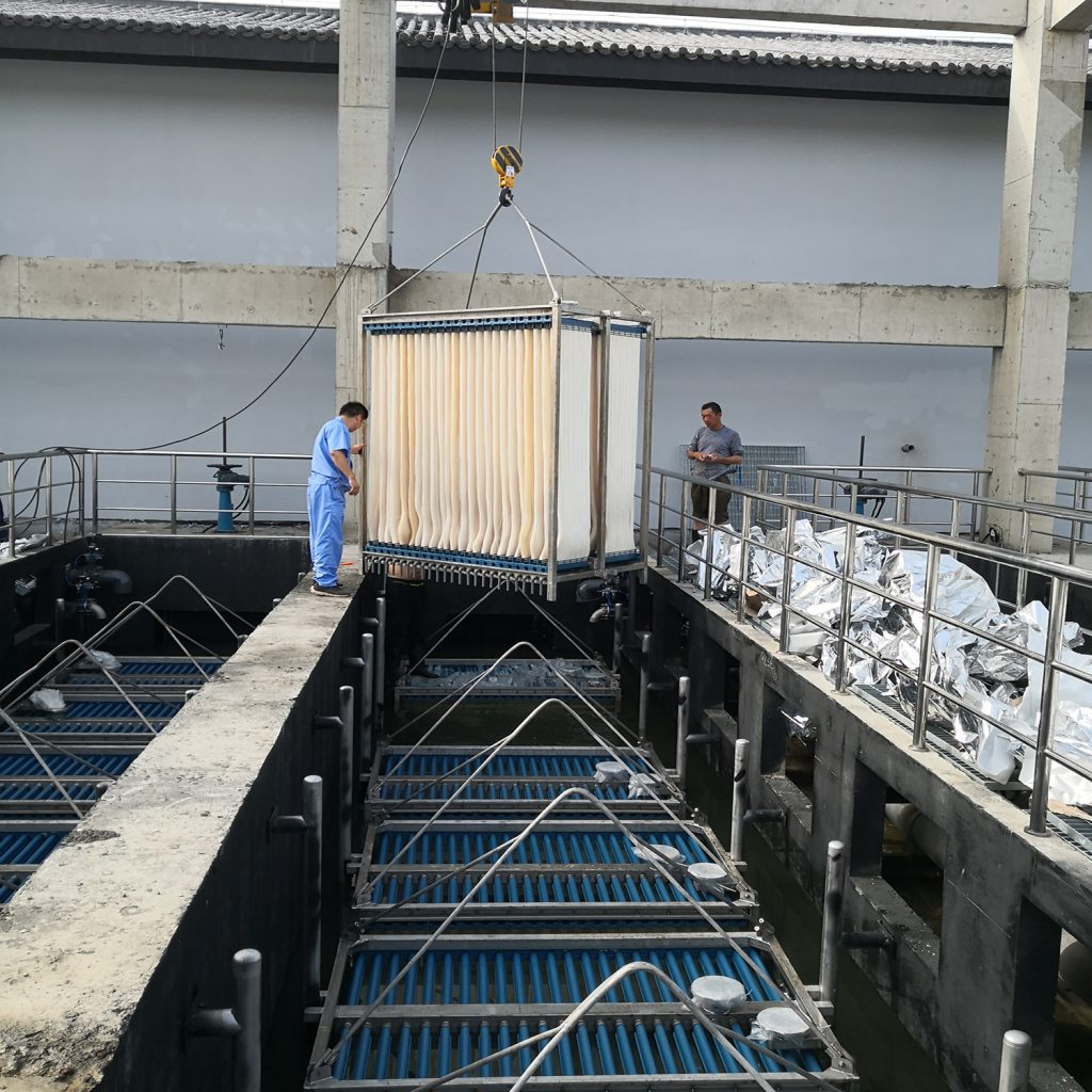 Dairy Products Wastewater STP treat process