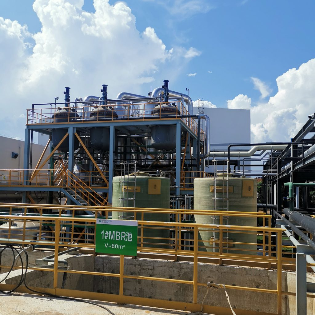 landfill leachate Wastewater Project